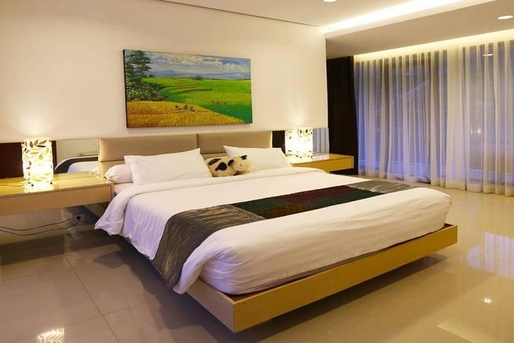 4 BR 1 Villa Dago City View Pool 1 Bandung - Kamar tamu