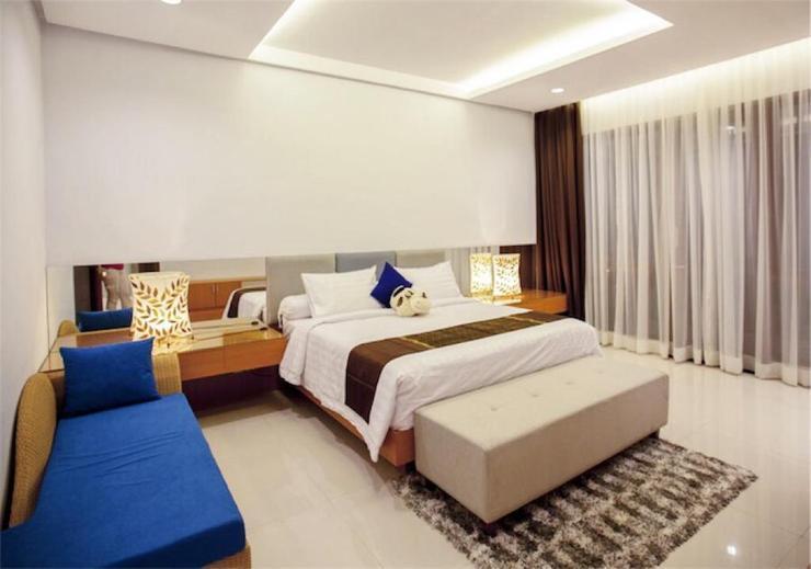 4 BR 1 Villa Dago City View Pool 1 Bandung - bedroom