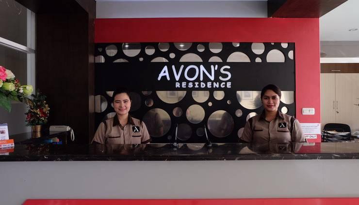 Avon's Residence Manado - Resepsionis