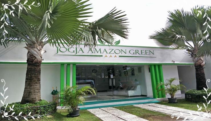 Jogja Amazon Green 1 Yogyakarta - Facade