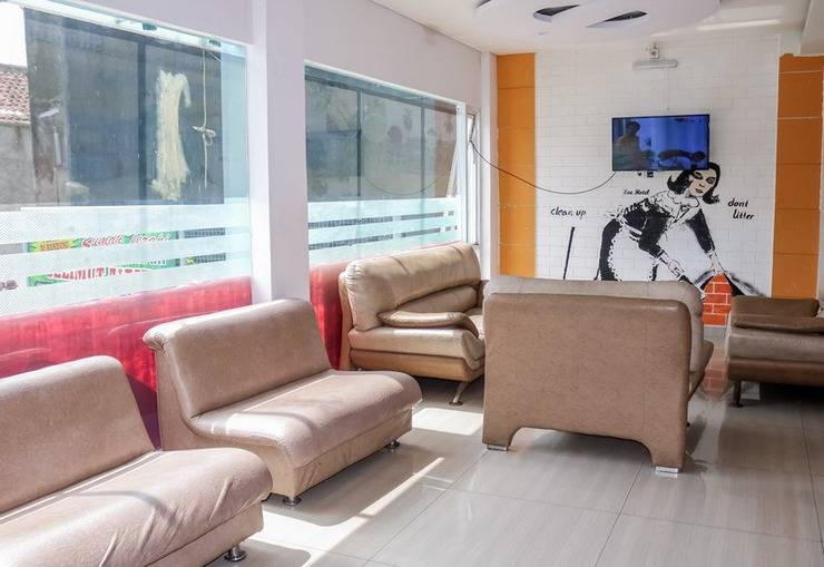 NIDA Rooms Bandung Convention Centre Bojongloa Kidul - Ruang tamu
