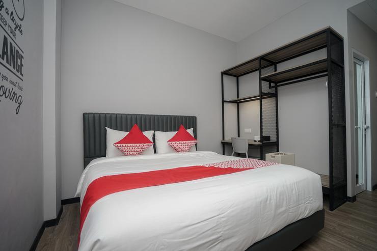 OYO 568 Rajawali Homestay Palembang - Bedroom