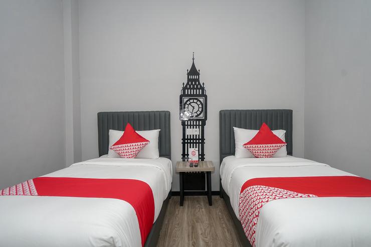 OYO 568 Rajawali Homestay Palembang - Bed Room