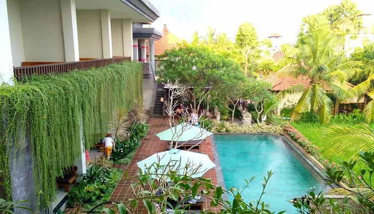 Inata Bisma Bali - Pemandangan Kolam Renang
