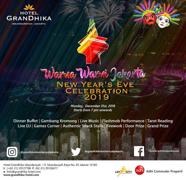 Hotel GranDhika Iskandarsyah - NEW YEAR
