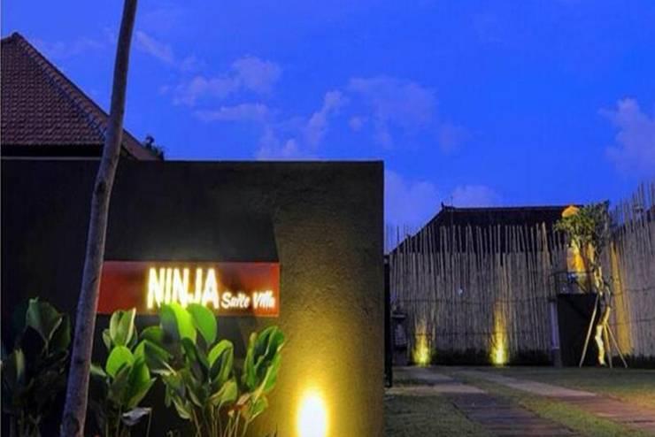 Ninja Suite Villa  Bali - Tampilan Luar Hotel