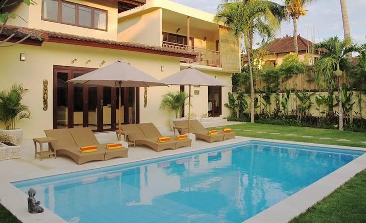 Aisha III Bali - gedung dan kolam renang