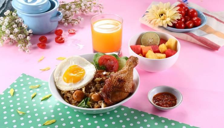 POP Hotel Stasiun Kota Surabaya - Breakfast