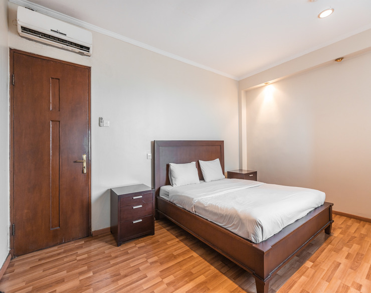 Service Apartment By Arkadia Jakarta - Bedroom