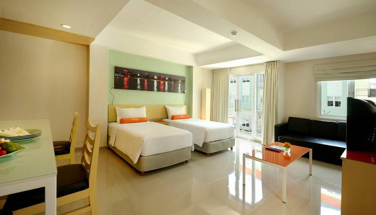 HARRIS Hotel Kuta - Family Room - Twin bed