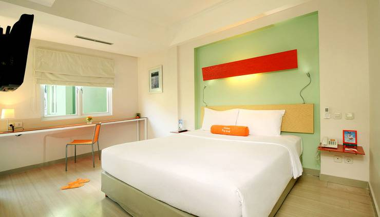 HARRIS Hotel Kuta - Family room - Kamar tidur utama