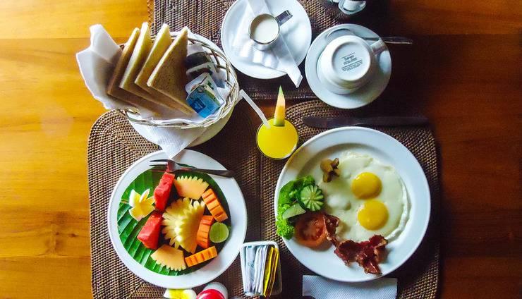 Puri Dalem Hotel Bali - Hidangan Sarapan