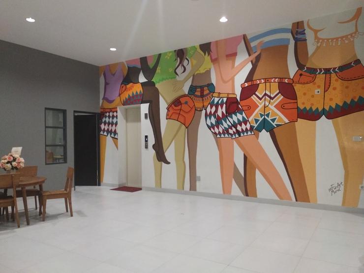 Hotel Pantes Simpang Lima Semarang - Lobby