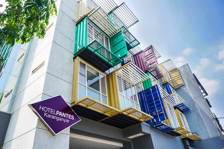 Hotel Pantes Simpang Lima Semarang - Bangunan