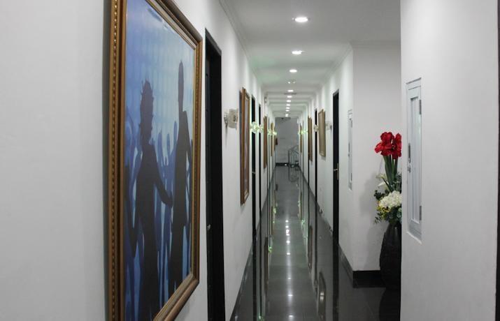 Hotel California Jakarta - Corridor