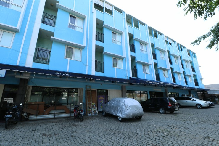 Sky Airlines Guesthouse Tangerang - Eksterior