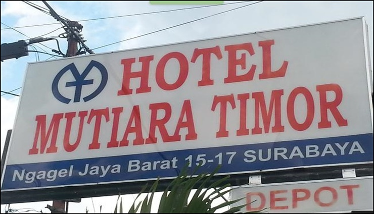 Mutiara Timor Hotel Surabaya - exterior