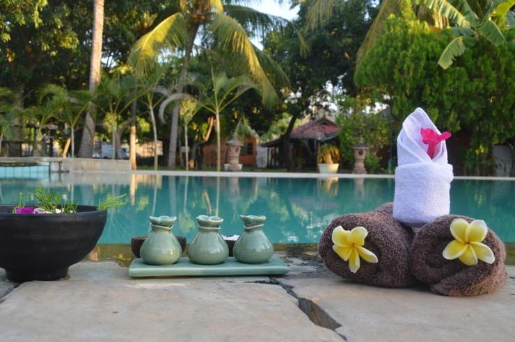 Bagus Beach Resort Lovina Bali - Pool