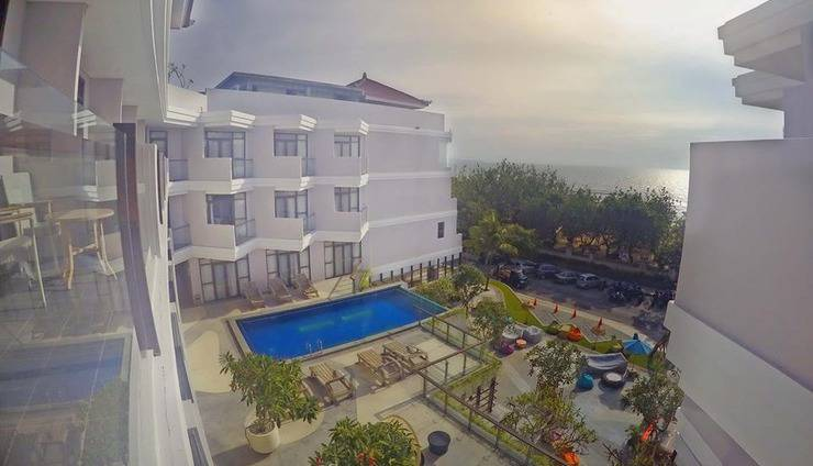 kuta playa hotel Bali - Pemandangan Hotel