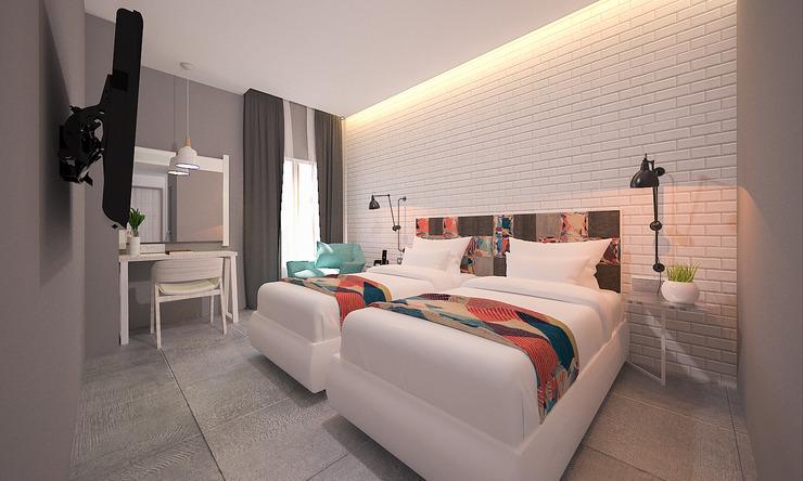 We Hotel Lubuklinggau - Bedroom