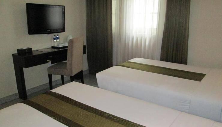 Vio Hotel Cimanuk Bandung - Deluxe Twin