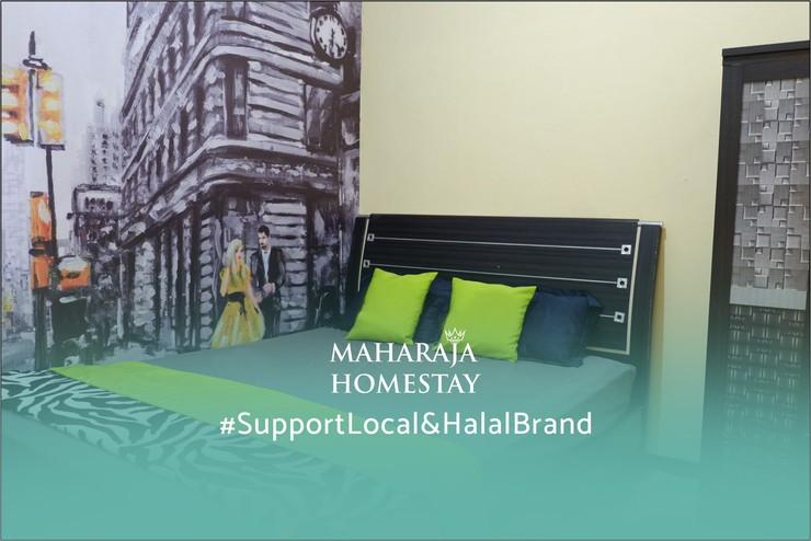 Maharaja Homestay Syariah Malang - Kamar Tidur