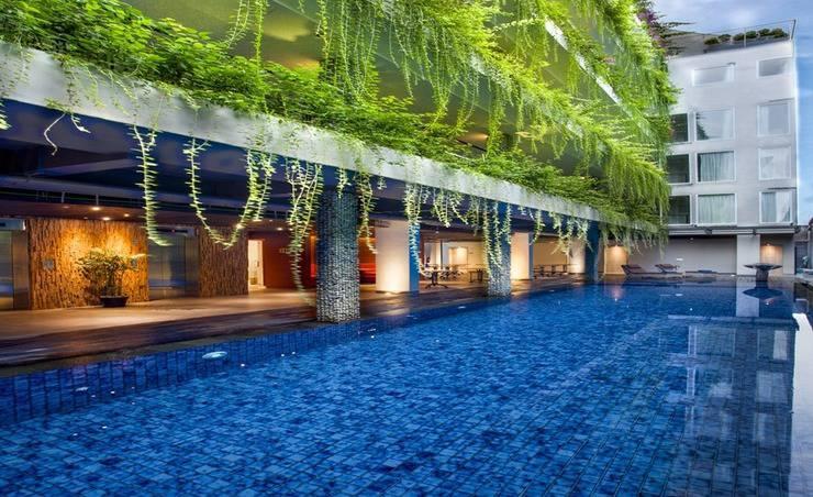 Hotel Daun Bali Seminyak Bali - Kolam Renang