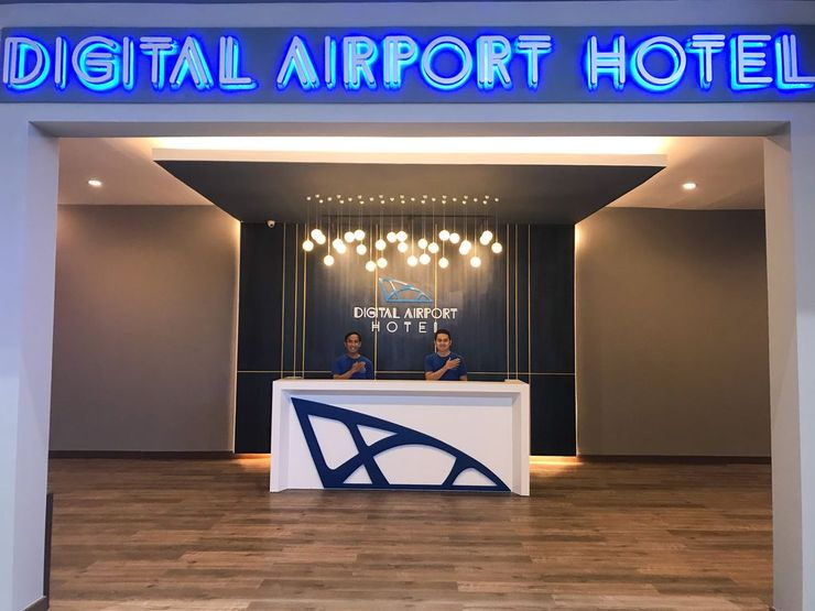 Digital Airport Hotel Terminal 2 Tangerang - Reception