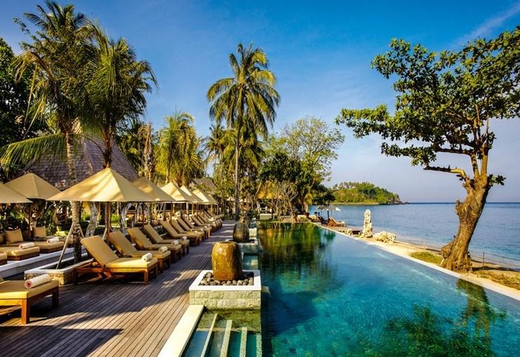 Qunci Villas Hotel Lombok - Pool