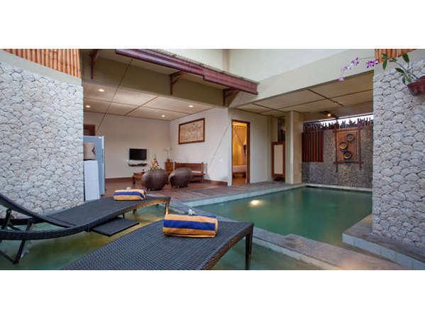 Desa Muda Village Seminyak - Satu kamar tidur Villa pemandangan Kolam Renang