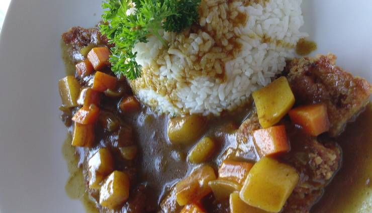 Cabin Hotel Jakarta - Chicken Katsu with Curry Sauce