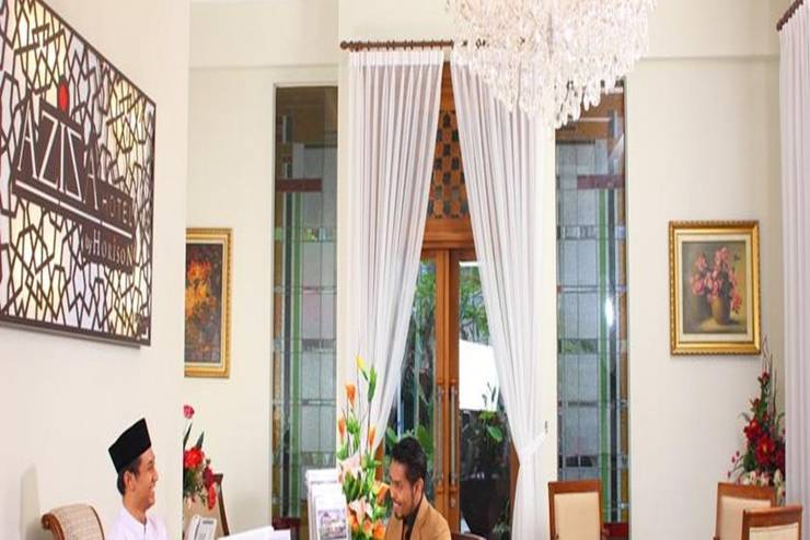 Aziza Syariah Hotel Solo By Horison Solo - Resepsionis