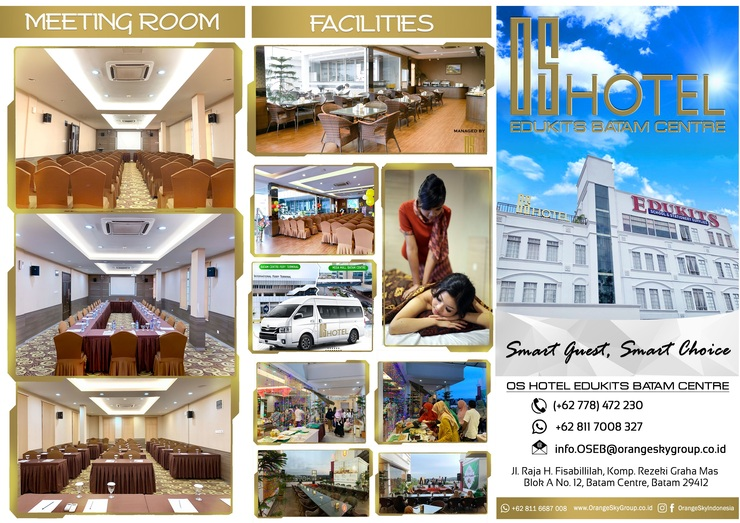 Venesia Hotel  Batam - Brosur Hotel