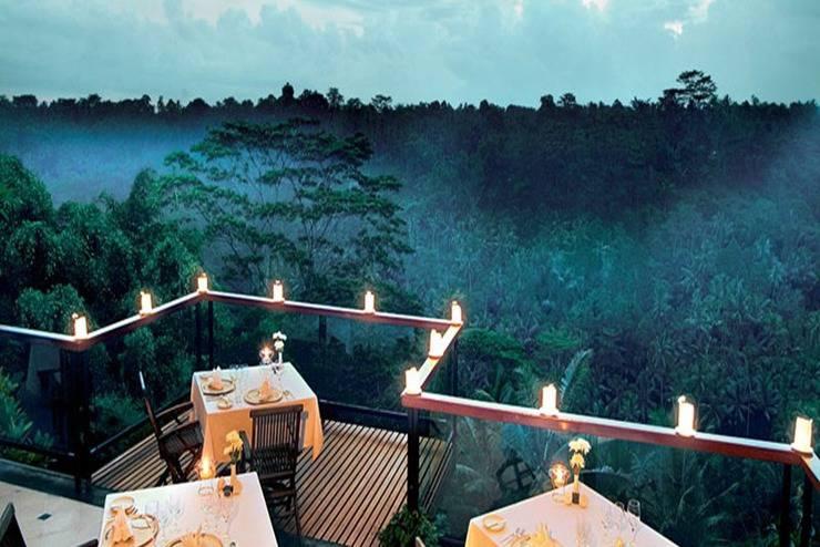Kupu Kupu Barong Villas Bali - Ruang makan