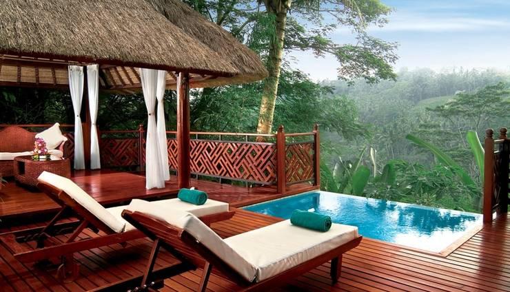 Kupu Kupu Barong Villas Bali - River View Pool Villa