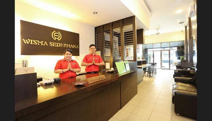 Wisma Sederhana Budget Hotel Medan - Reception