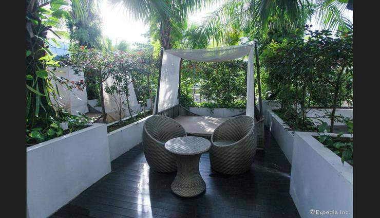 Fort Canning Hotel Singapore - Terrace/Patio