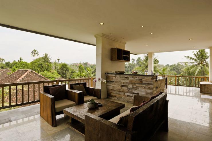 Sri Ratih Cottages Ubud - Balcony View