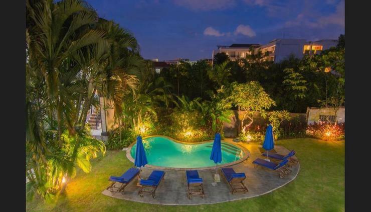 Gria Manik Batubelig Bali - View from Hotel