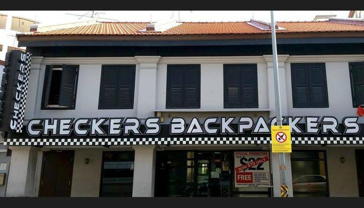 Checkers Backpackers Singapore - Featured Image