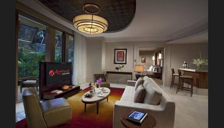 Resorts World Sentosa - Equarius Hotel Resorts World Sentosa - Equarius Hotel - Living Room