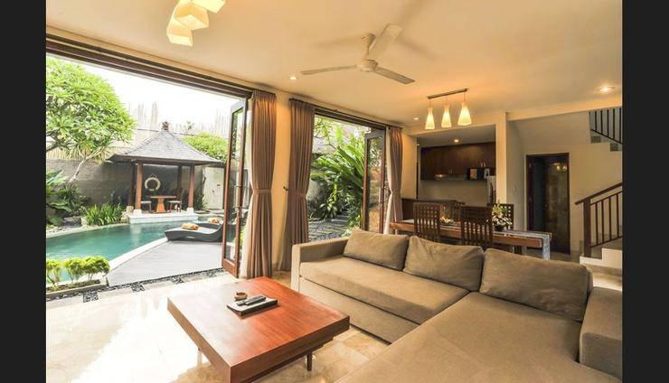 Aksata Villas Canggu - Living Room