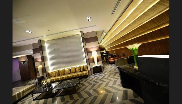 Parc Sovereign Hotel Tyrwhitt - Lobby Sitting Area