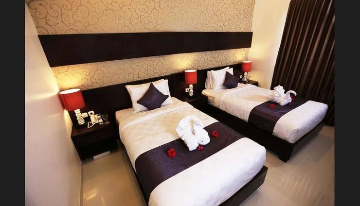 The Garga Beach Villas Bali - Guestroom
