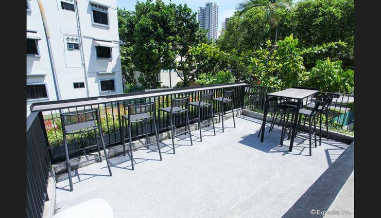 Lloyd's Inn Singapore - Terrace/Patio