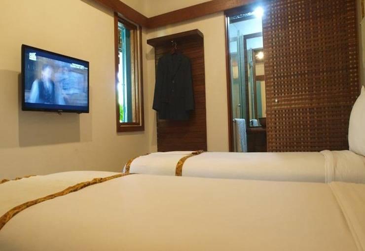 Flores Gallery Hotel Bandung - Kamar tamu