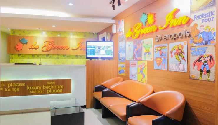 De Green Inn @aeropolis Tangerang - Lobby
