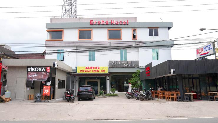Hotel Ersha Banjarmasin - halaman