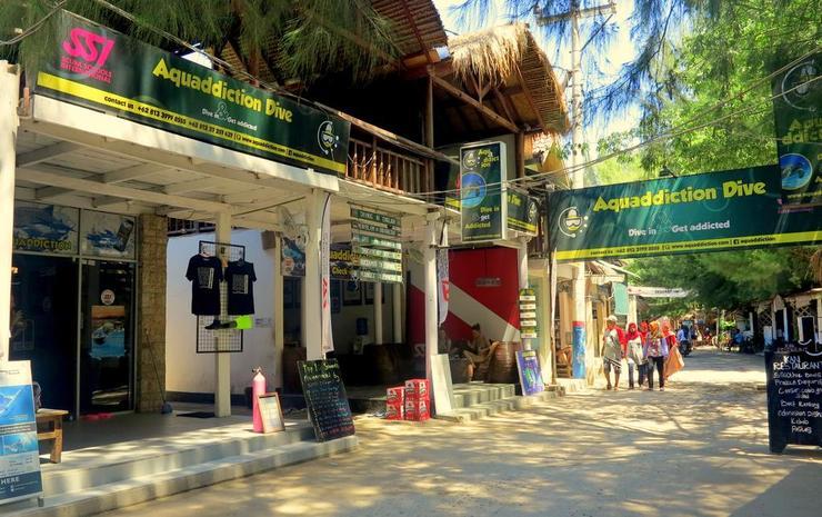 Aquaddiction Lombok - Exterior