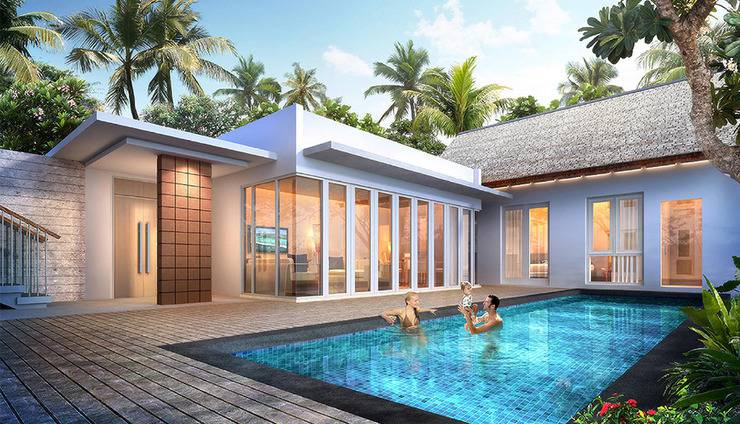 Gammara Hotel Makassar - Cottage 2 Bed + Private Pool